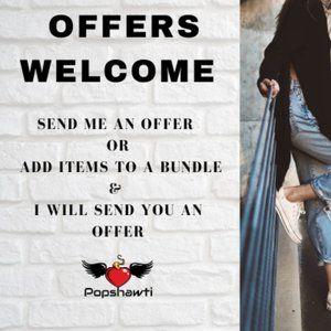 Like an Item - Send Me an Offer!!